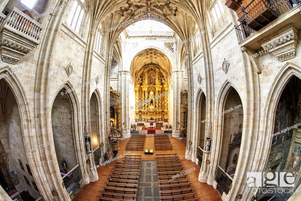 Imagen: Convento de San Esteban in Salamanca, Spain. A Dominican monastery, the Convento de San Esteban (Saint Stephen) was built in 1524 on the initiative of Cardinal.