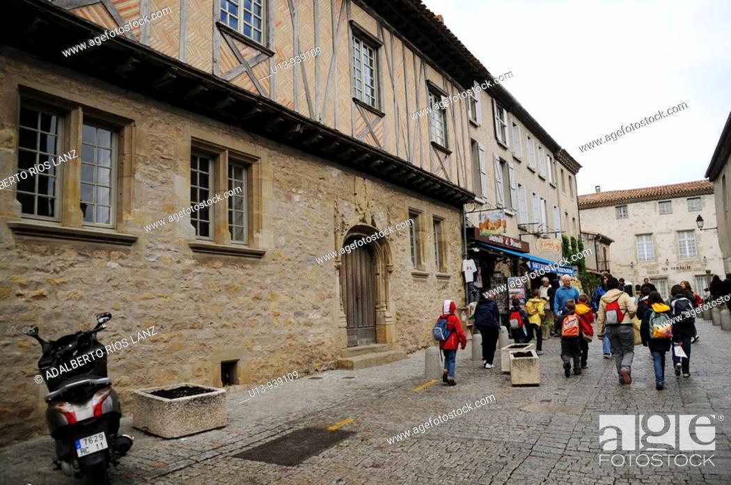 Stock Photo: Carcassonne, Languedoc, France, Europe.