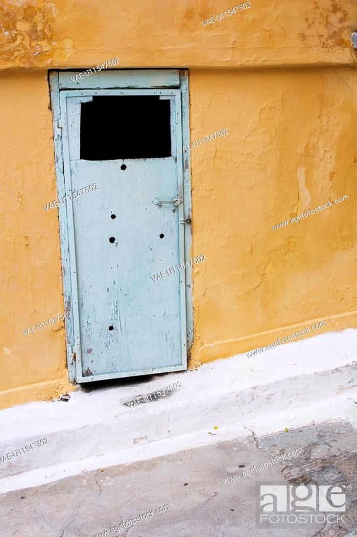 Stock Photo: Close-Up, Day, Door, Entrance, Exterior.