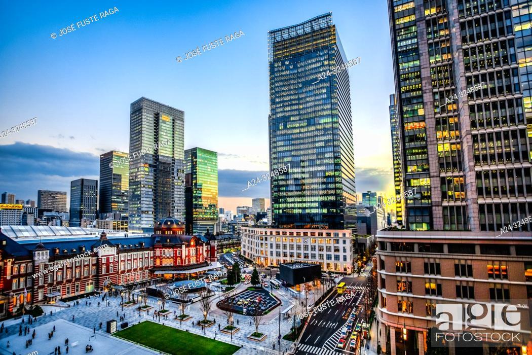 Imagen: Japan, Tokyo City, Toky Station, west side.