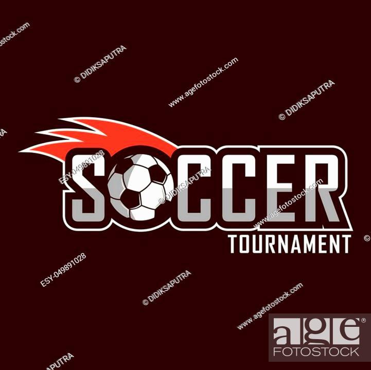 Vecteur de stock: Soccer logo, America logo, Europe logo.