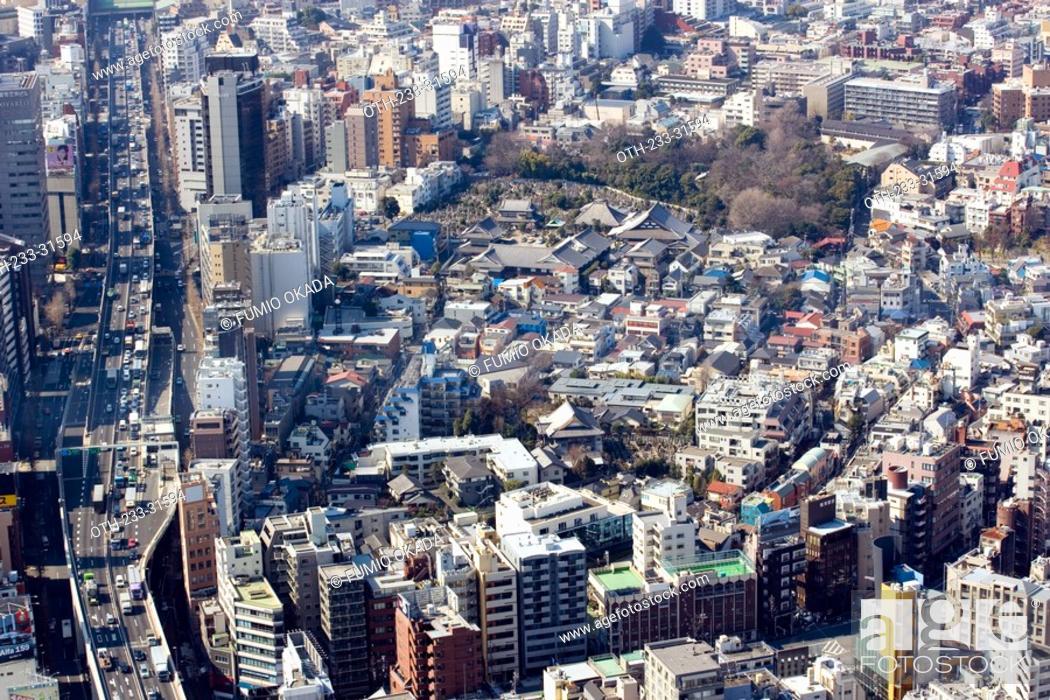 Imagen: Cityscape from Roppongi Hills, Tokyo, Japan.
