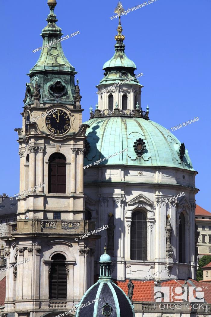Imagen: Czech Republic, Prague, Lesser Town, St Nicholas Church, .