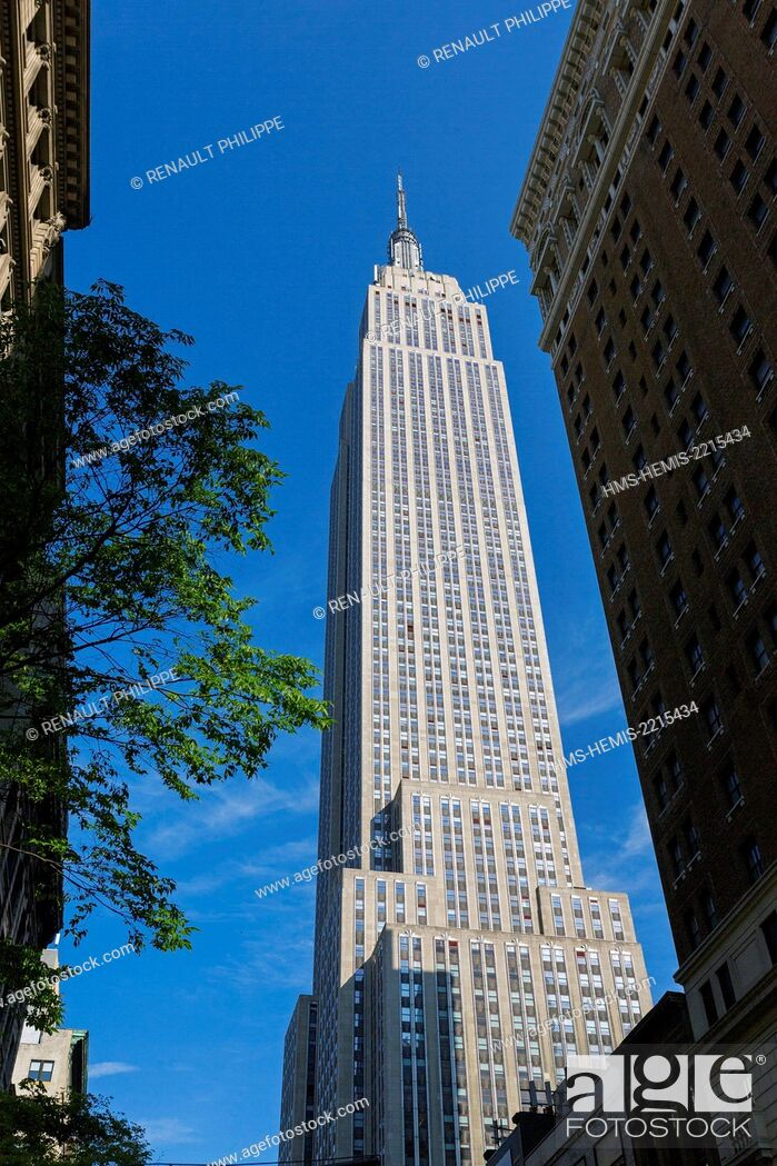 Photo de stock: United States, New York, Empire State Building.