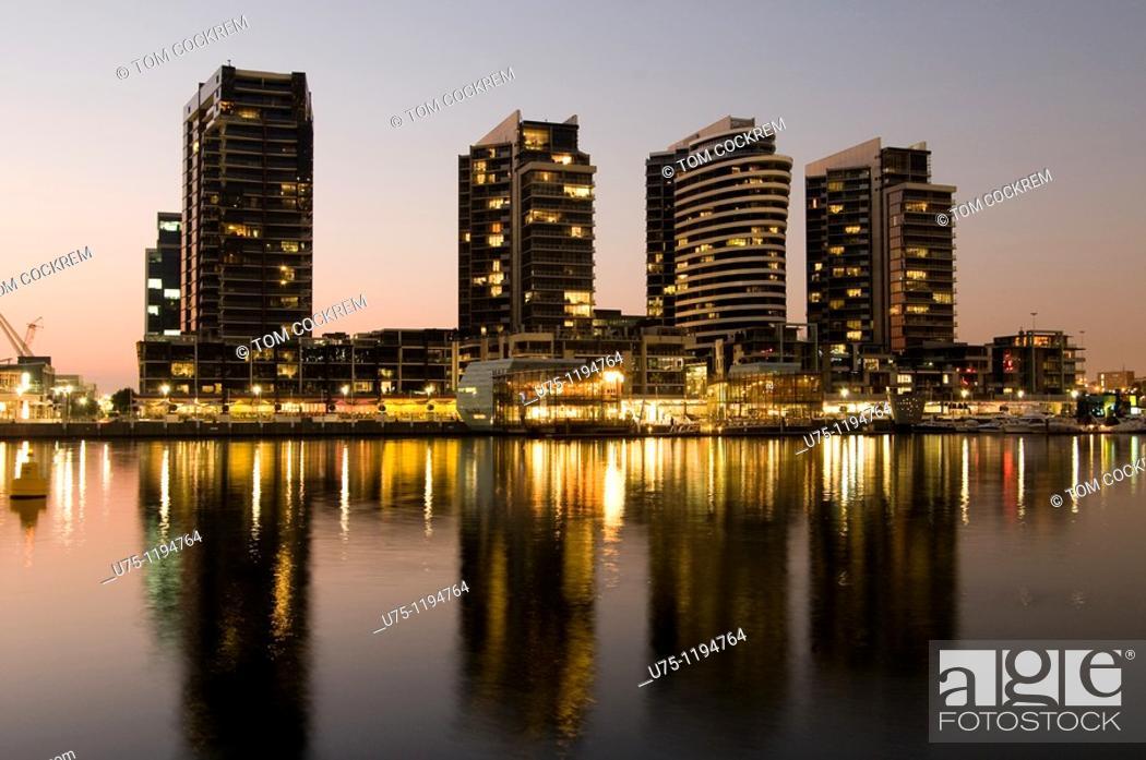 Imagen: Docklands scene, Melbourne, Australia.
