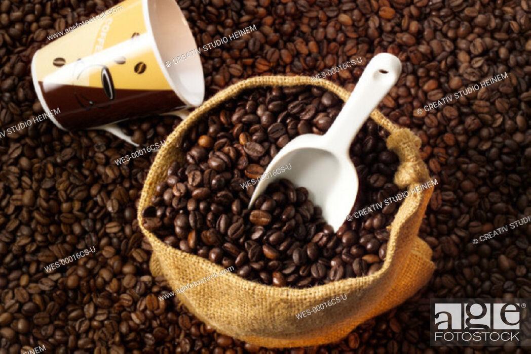 Stock Photo: coffeebeans.