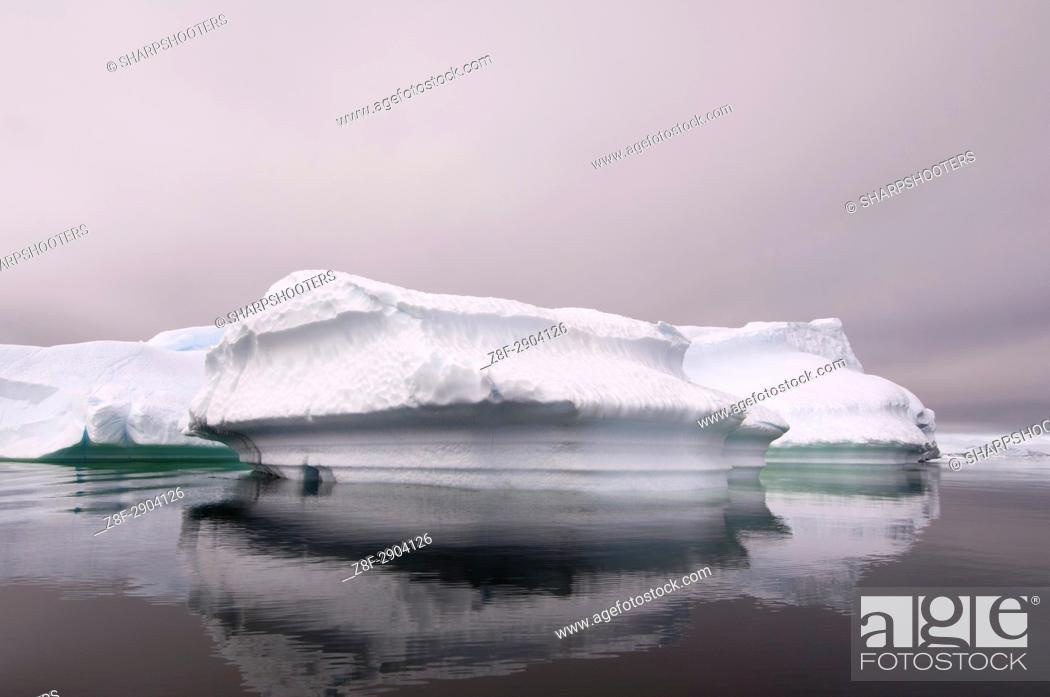 Imagen: Antarctica, Antarctic Peninsula, Gerlache strait, Neko Harbor.