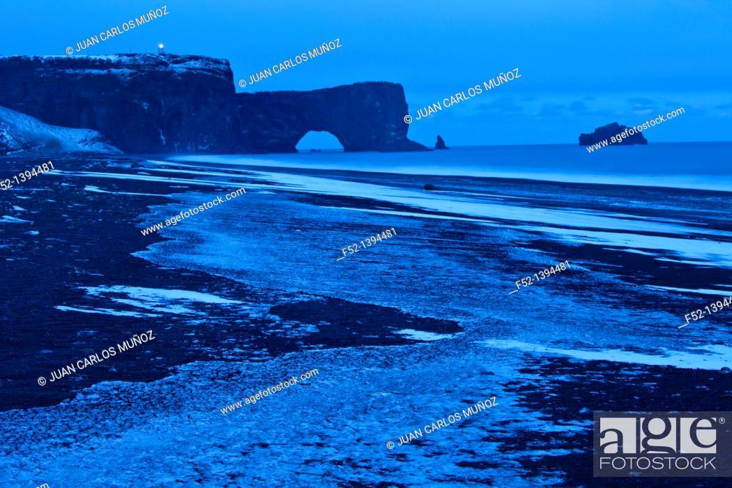 Stock Photo: Dyrholaey, Southern Iceland, Iceland, Europe.