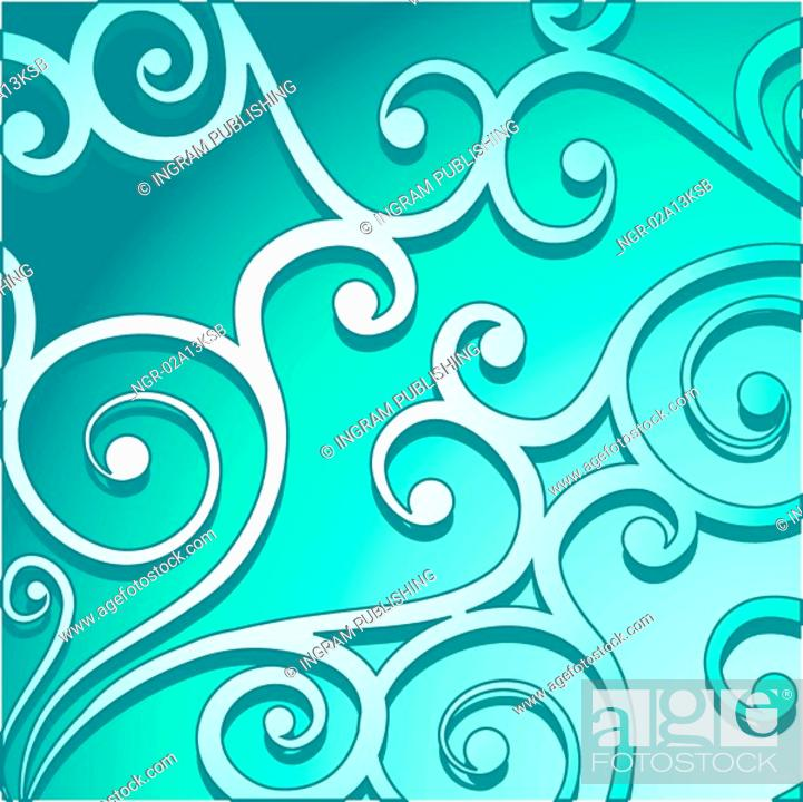 Stock Photo: Decorative background.