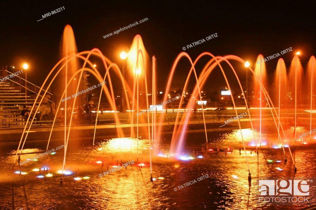 Stock Photo: Fountain.