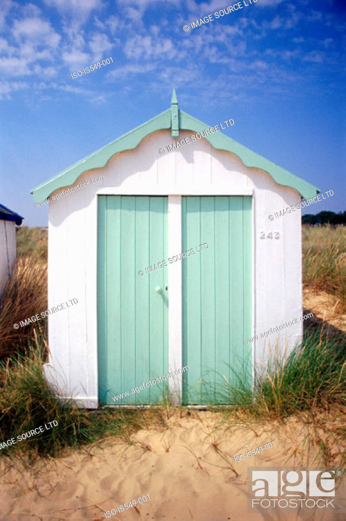 Stock Photo: Beach hut.