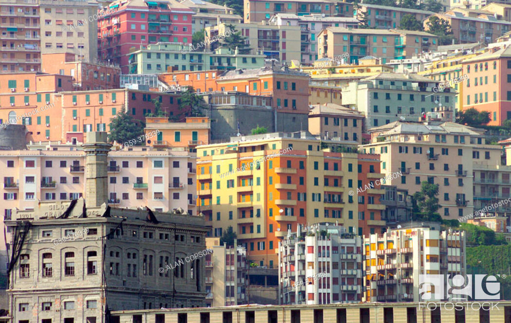 Stock Photo: Italy. Liguria. Genoa (Genova).