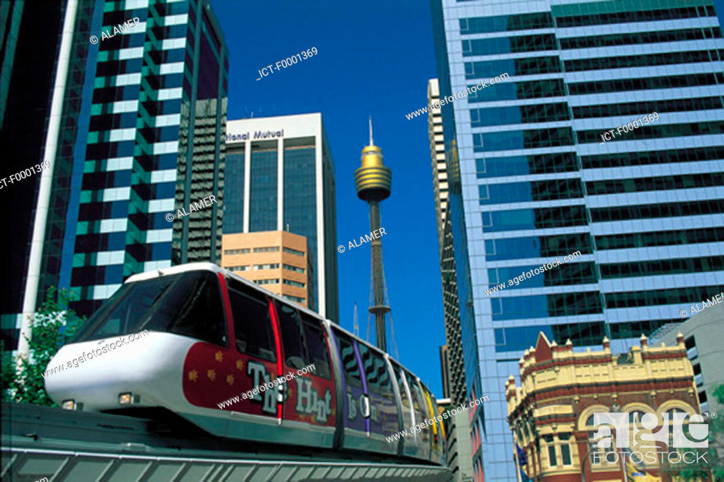 Stock Photo: Australia, Sydney, transports.