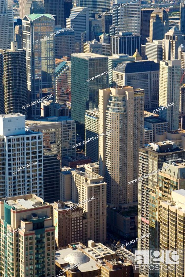 Stock Photo: USA Illinois Chicago Downtown.