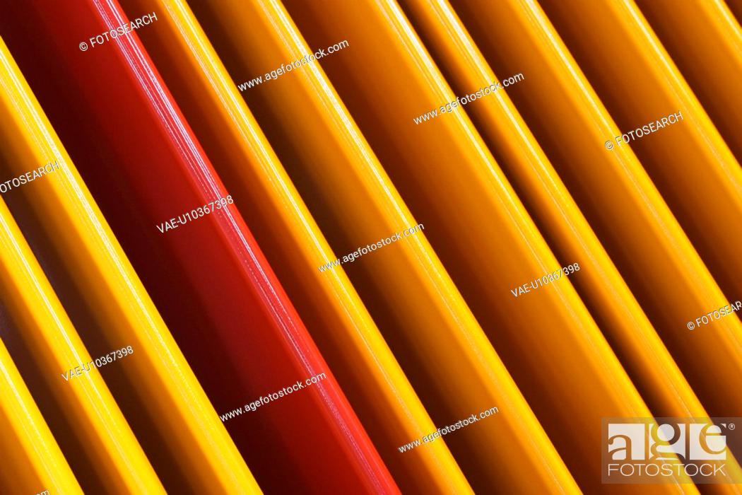 Stock Photo: Boards, Planks, Folders, Panels, Painted, Bright.