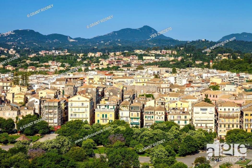 corfu greece old town