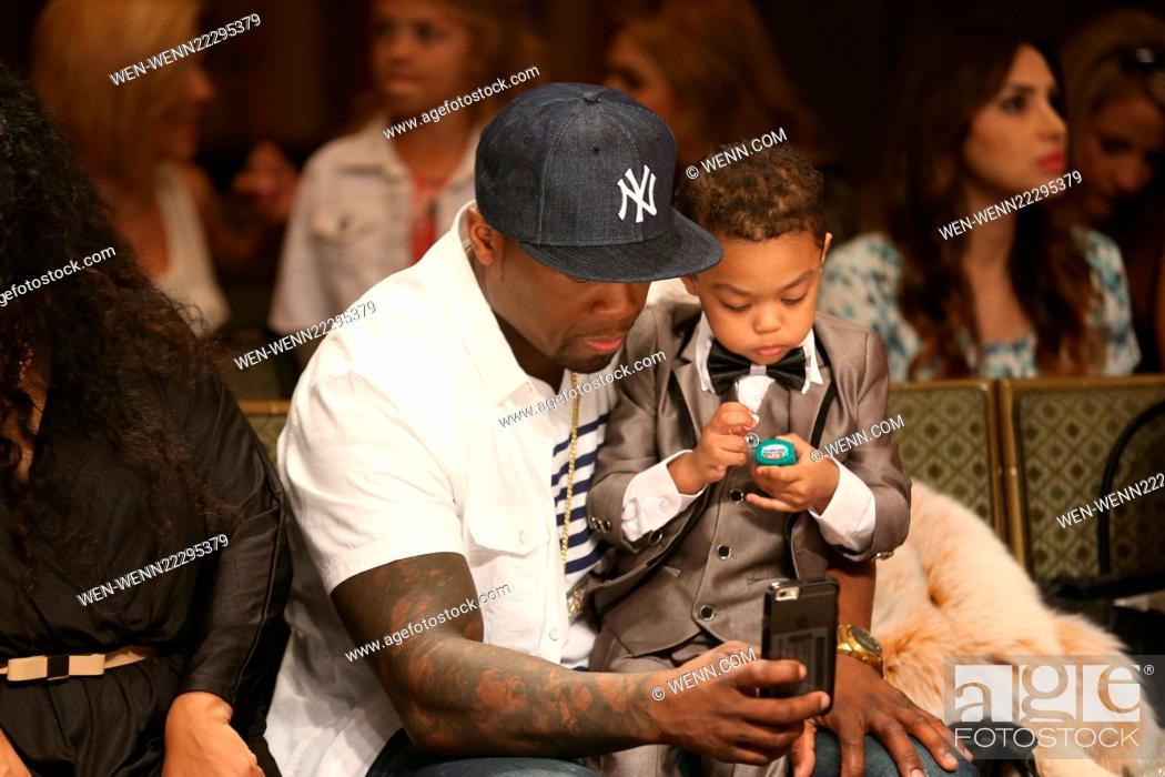 50 Cent and model Daphne Joy kick off LA Fashion Week