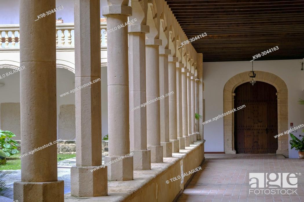 Stock Photo: Monasterio de Santa Maria de la Real, 1229 , estilo gótico mediterráneo, Secar de la Real, Palma, Mallorca, balearic islands, Spain.