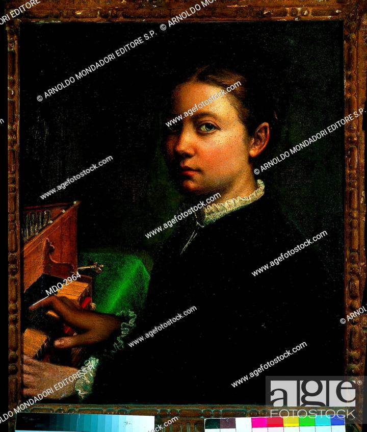 Imagen: Self-Portrait at the spinet (Autoritratto alla spinetta), by Sofonisba Anguissola, 1555, 16th Century, oil on canvas.