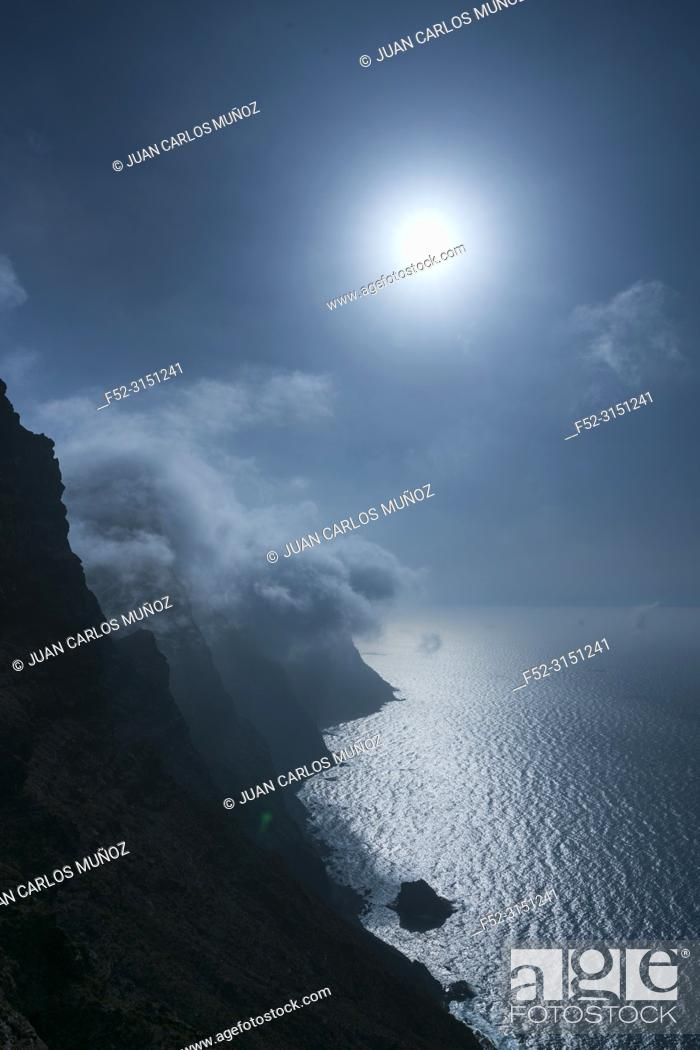 Imagen: Mirador del Balcon lookout, La Aldea de San Nicolas municipality, Gran Canaria Island, The Canary Islands, Spain, Europe.