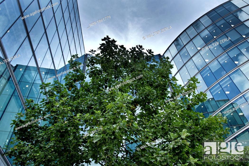 Stock Photo: Europe, england, london, skycraper.