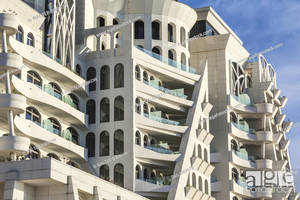 Photo de stock: Georgia, Batumi, Batumi Boulevard, seaside promenade, architecture.