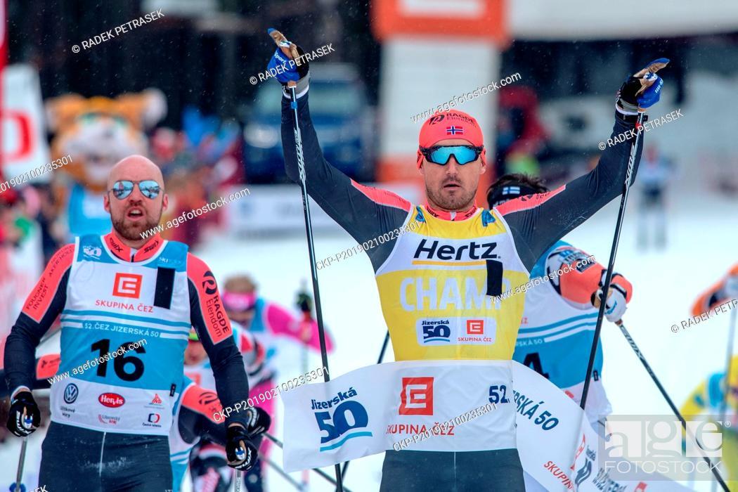 Norwegian Andreas Nygaard won the Jizerska padesatka 50-km