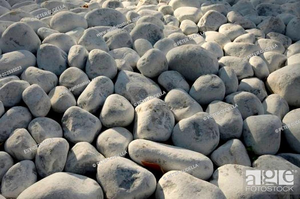 Stock Photo: Pebbles.