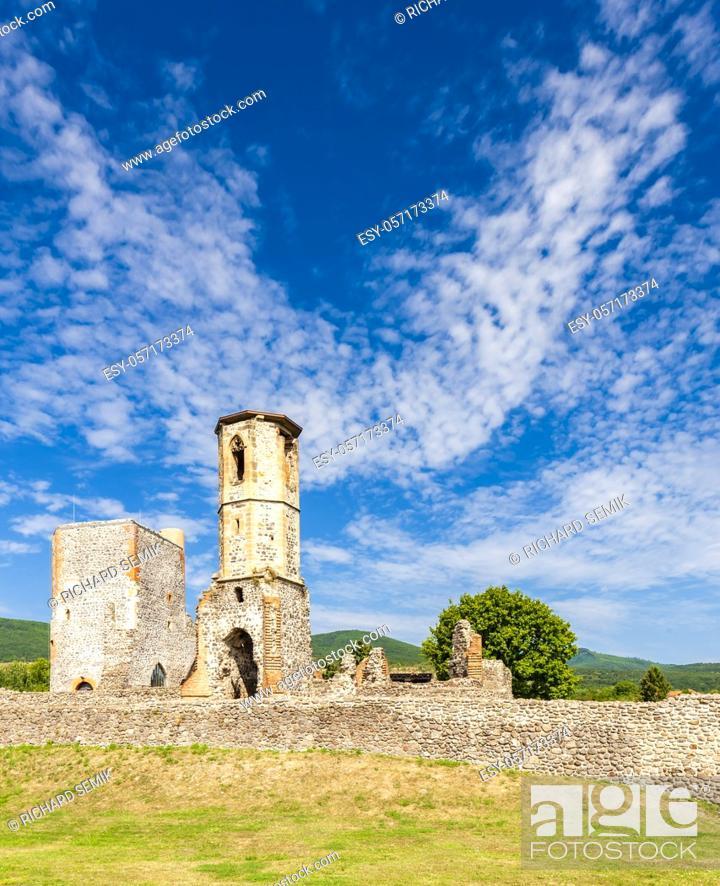 Stock Photo: Kisnana Castle near Eger, Hungary.