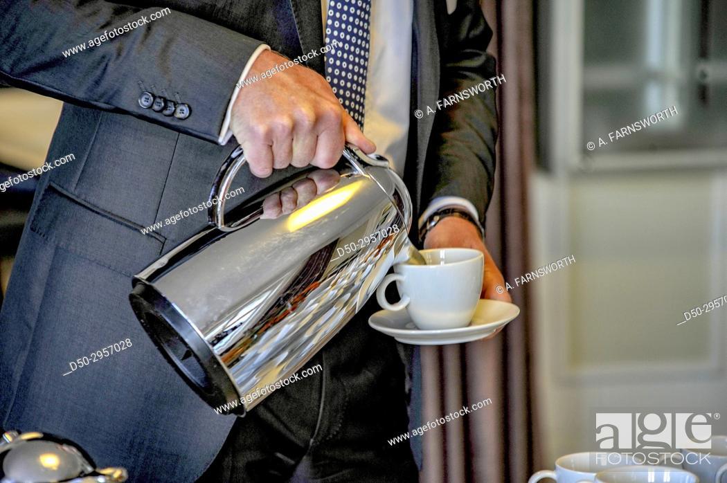 Imagen: STOCKHOLM, SWEDEN Business breakfast.