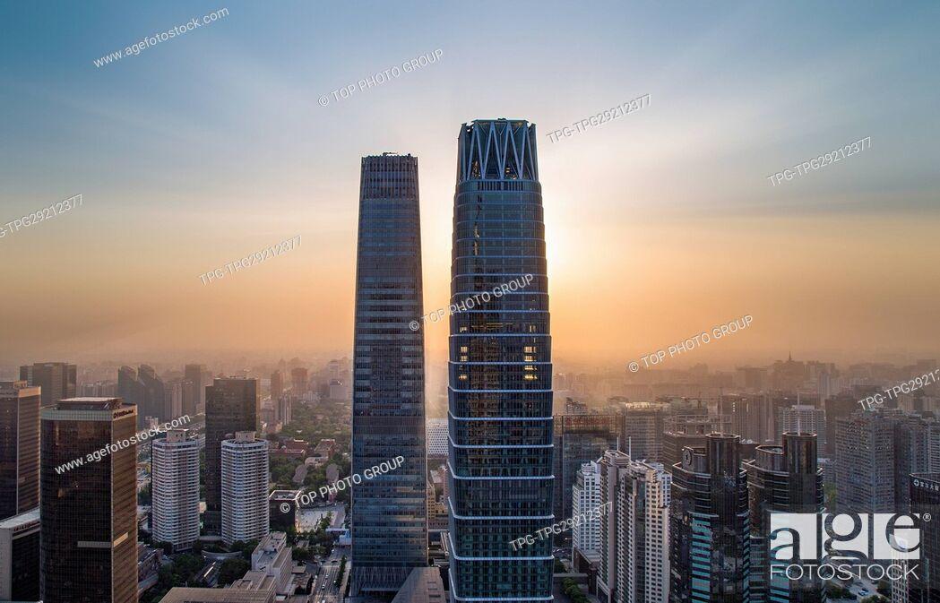 Imagen: China World Trade Center Tower; Beijing; China.
