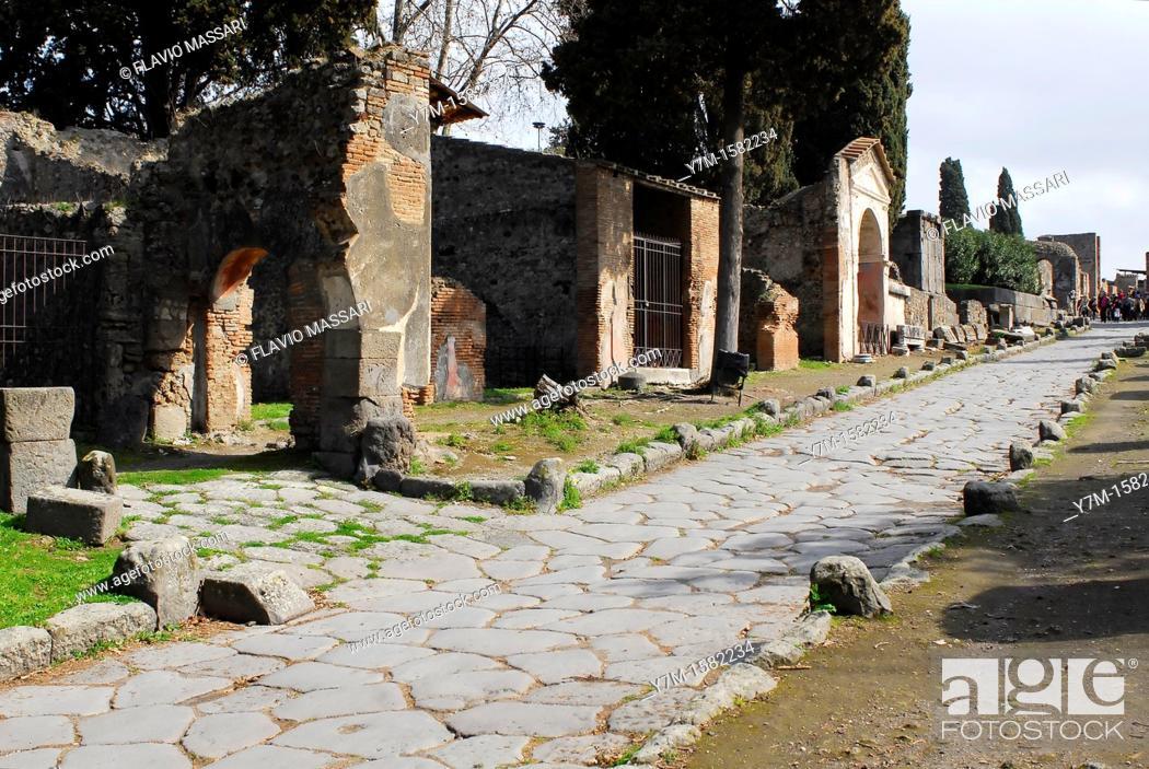 Stock Photo: Pompei.