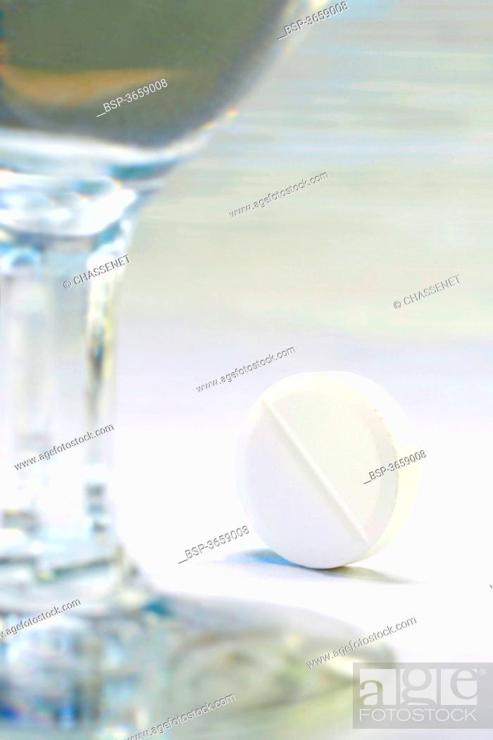 Stock Photo: ASPIRIN.