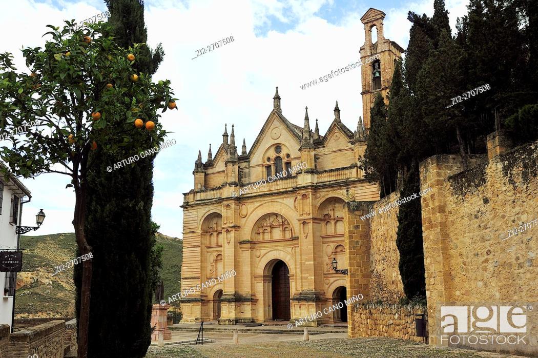 Imagen: The Real Colegiata de Santa María La Mayor, XVI century. Antequera, Málaga province, Spain.