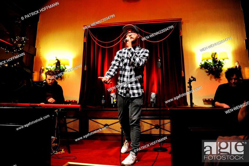 Stock Photo 988 KISS FM Mark Forster Christmas Concert At Wirtshaus Moorlake In Wannsee