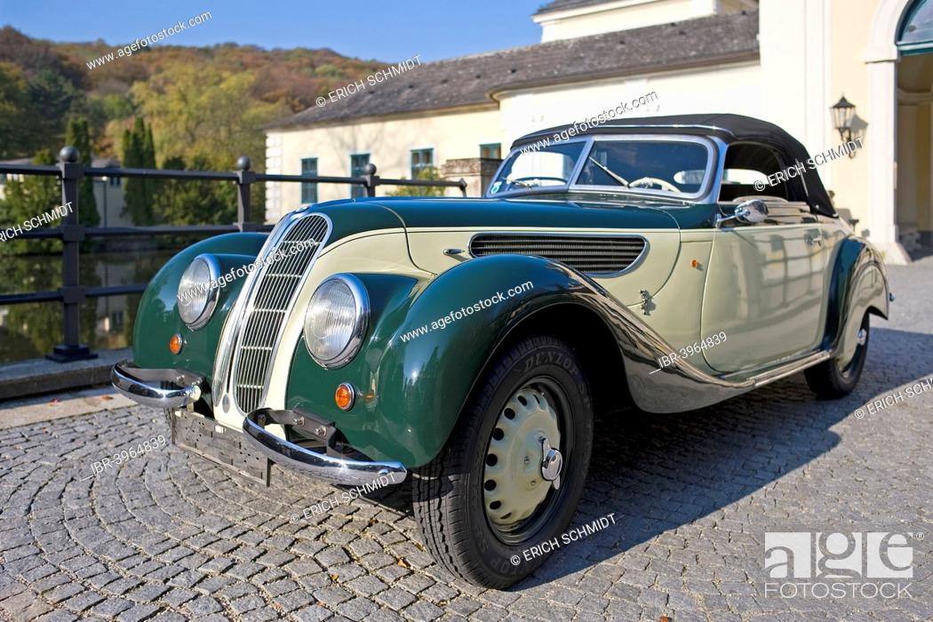 Vintage Bmw 327 28 Convertible Saloon Car Built In 1939 Stock Photo Picture And Rights Managed Image Pic Ibr 3964839 Agefotostock