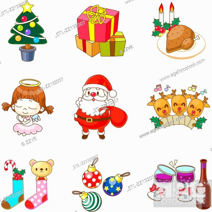 Stock Photo: Christmas Gifts.