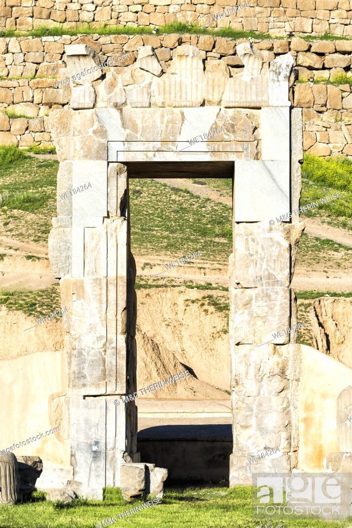 Imagen: Persepolis, Unfinished Gate, Fars Province, Islamic Republic of Iran.