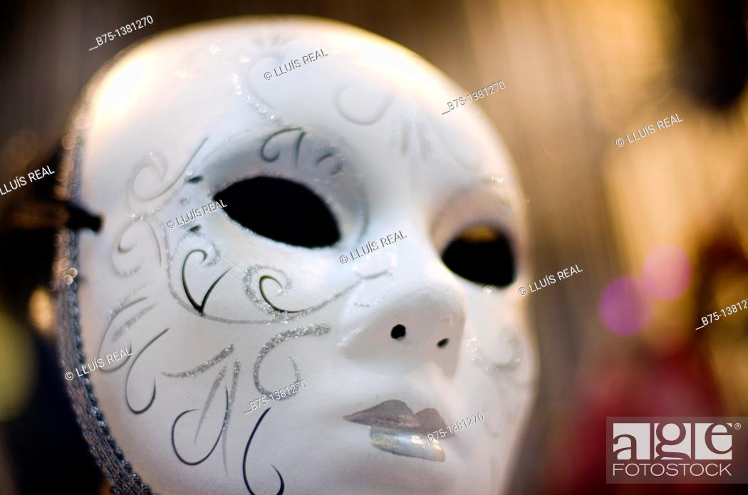 Stock Photo: Mask.