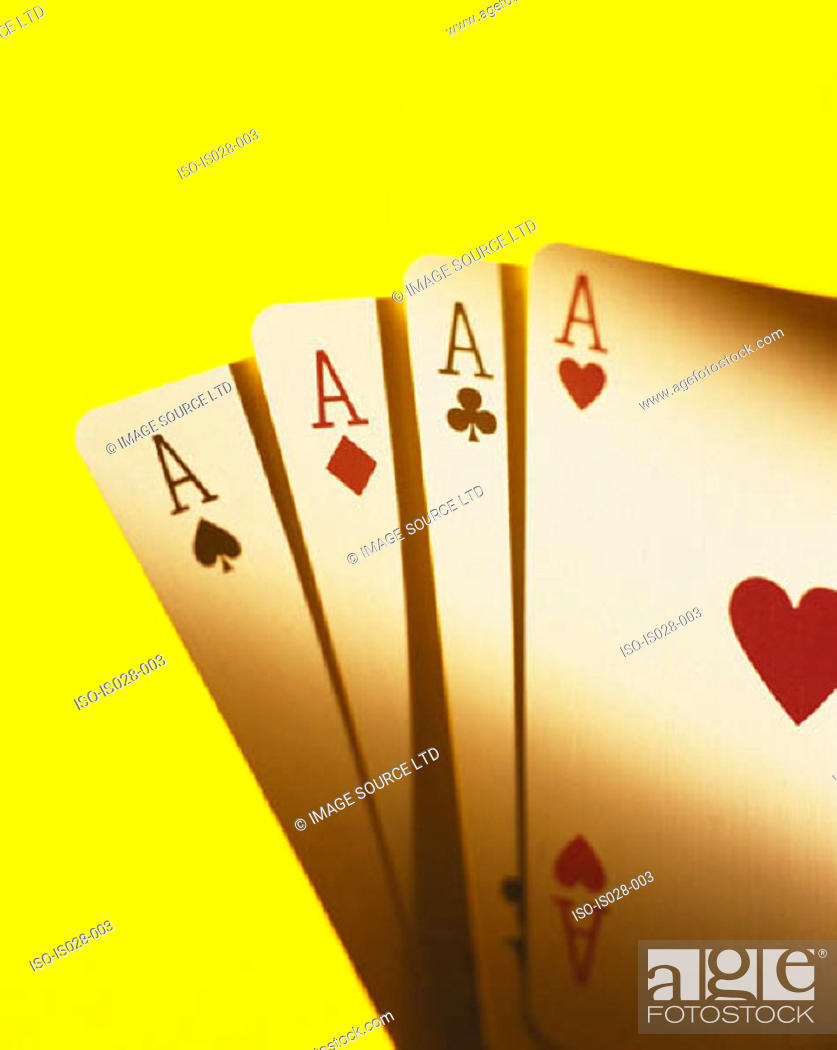 Stock Photo: Playing cards.