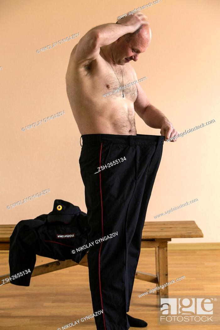 Stock Photo: Russian Federation. Police customize the new form.