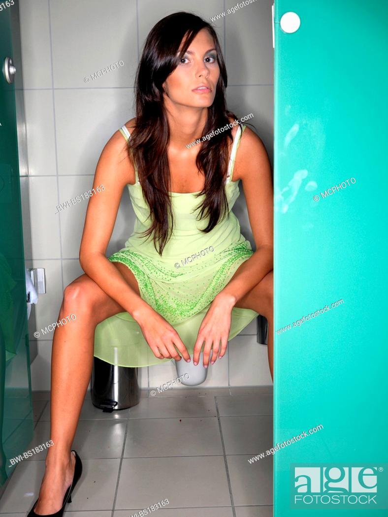 Woman spreading her legs