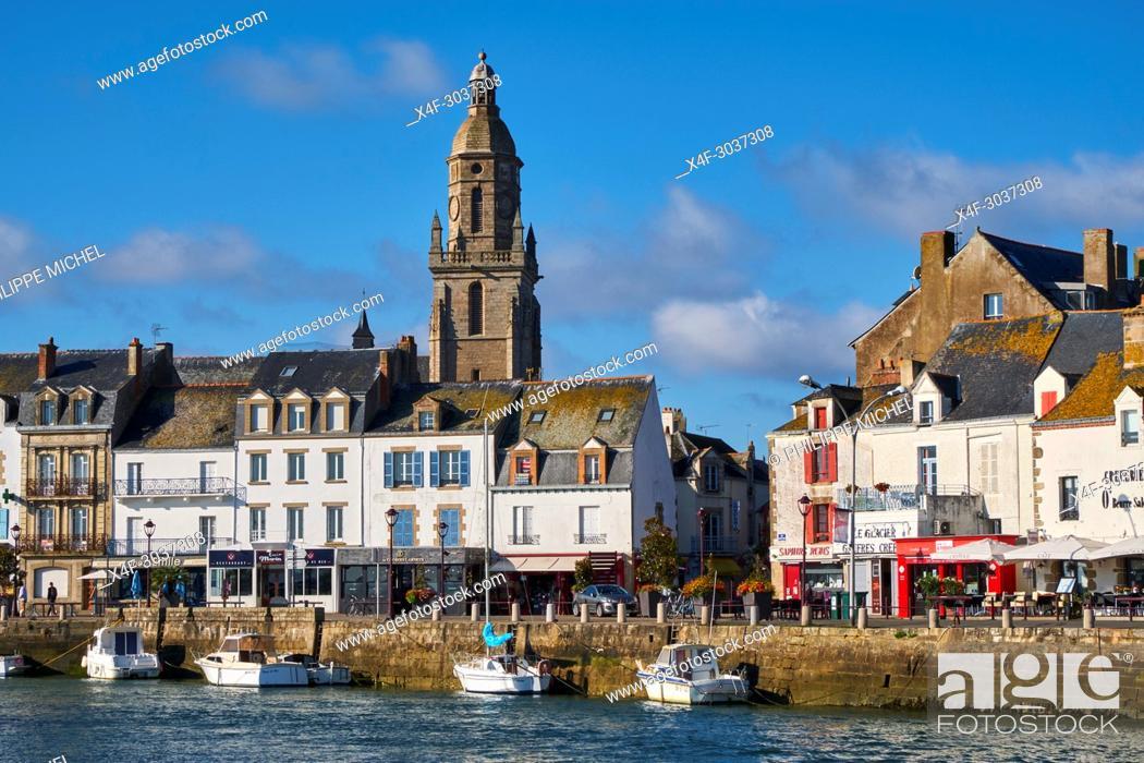 Stock Photo: France, Loire-Atlantique, Le Croisic.