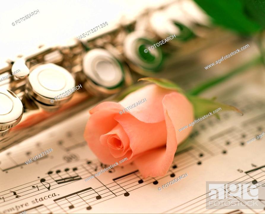 Stock Photo: Music.