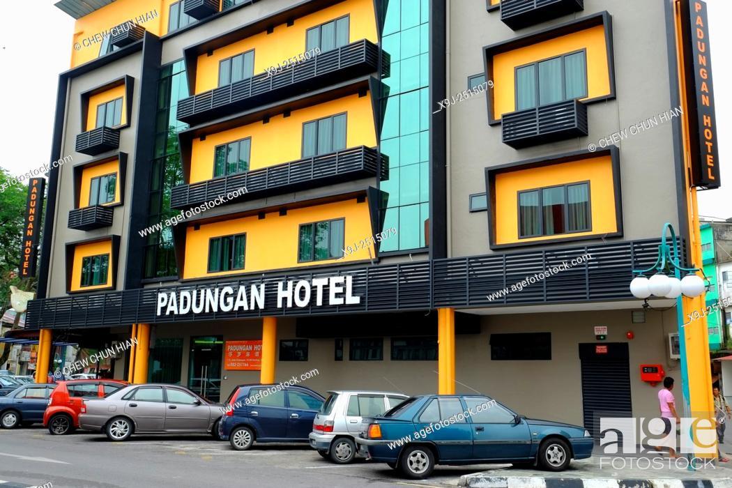Stock Photo: Padungan area of Kuching, Sarawak, Malaysia, Borneo.