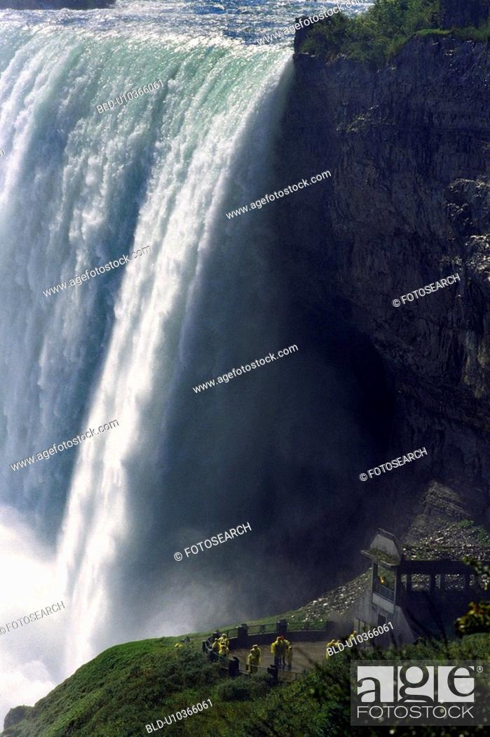 Stock Photo: falls, cascade, faelle, day, cascades, american.