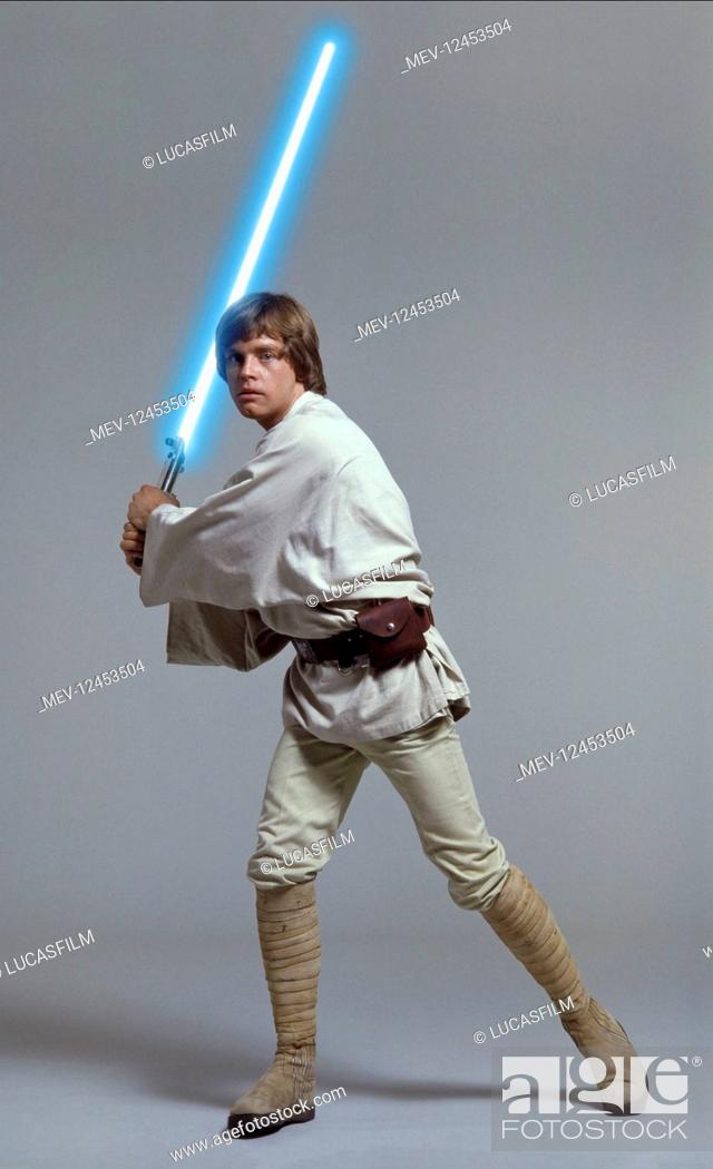 Mark Hamill Characters Luke Skywalker Film Star Wars Star Wars Episode Iv A New Hope Usa Stock Photo Picture And Rights Managed Image Pic Mev 12453504 Agefotostock