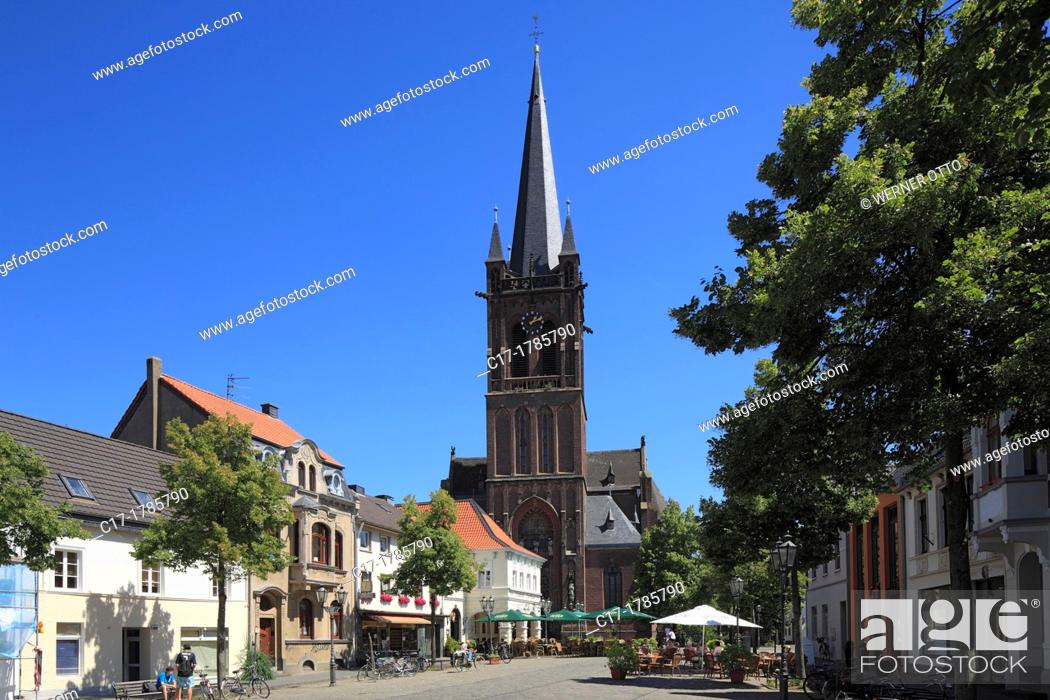 Hьckelhoven, Lower Rhine, North Rhine-Westphalia, Germany скачать