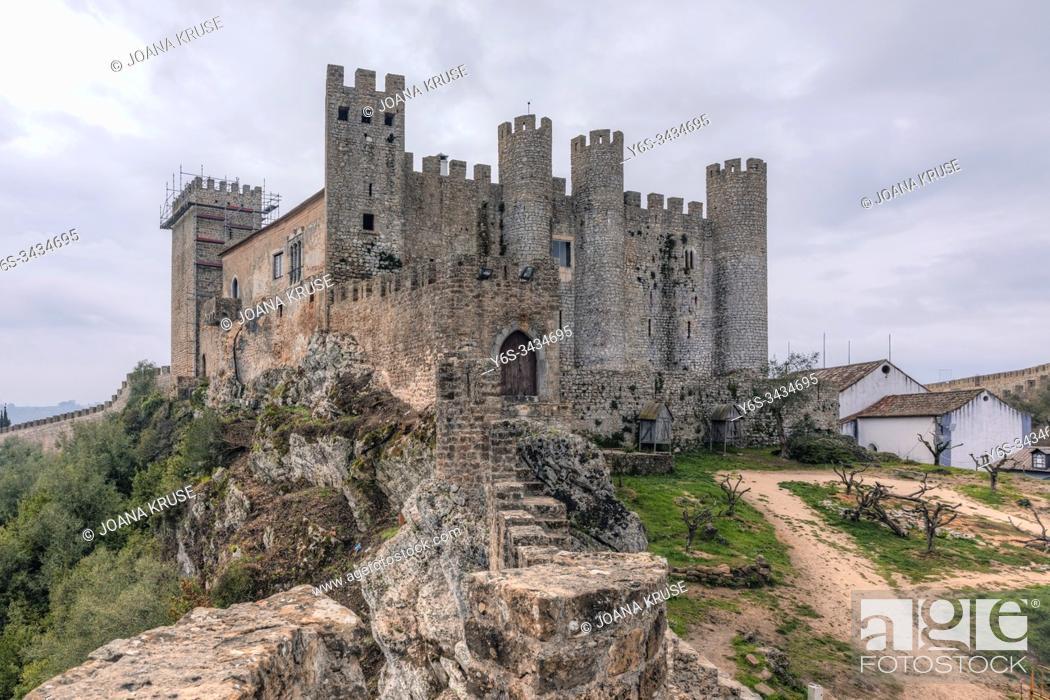Stock Photo: Obidos, Oeste, Leiria, Portugal, Europe.