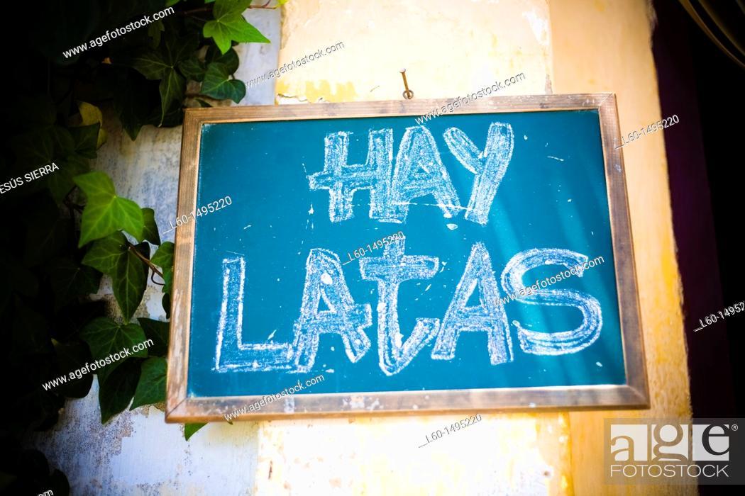 Stock Photo: Bar in Cabo de Gata, Almeria, Spain.